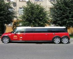 MINI Cooper Limo.. SO COOL!