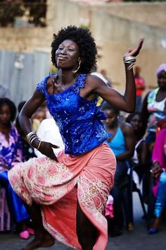 Dancer in streets of Medina, Dakar. © Shahidul Alam/Drik/Majority World