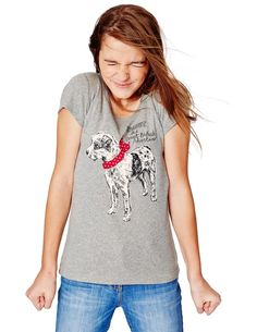 Skinny Graphic T-shirt 91271 Graphic T-Shirts at Boden