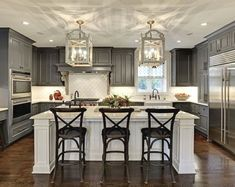 Kitchen Cabinet Design - CLICK THE PIC for Lots of Kitchen Ideas. #cabinets #kitchenorganization