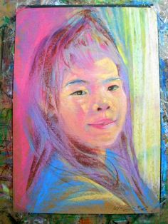 My daughter - Painting by Paintfa Chanchutiwanit in DADDY at touchtalent