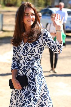 Dvf Pattern Wrap Dress Kate Middleton Kate Middleton Prince