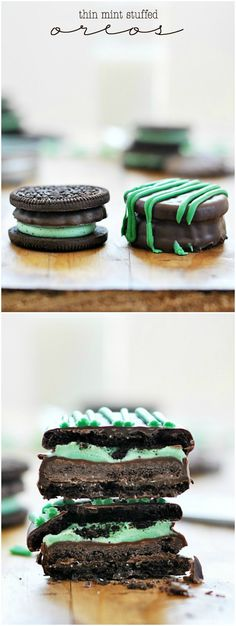Thin Mint-Stuffed Oreos | 23 Of The Most Delicious Things You Can Do To Girl Scout Cookies