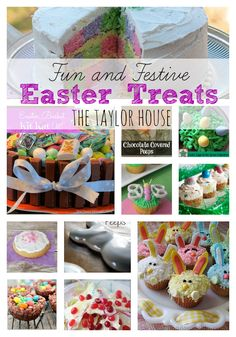 Have you started to plan for Easter?  We have a bunch of Fun and Festive Easter Treats and Desserts for you to make this year!  #EasterRecipes