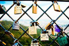 Love Locks by stuckinseoul, via Flickr