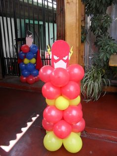 Narthex or Gym Entrance Superman Birthday, Avengers Birthday, Superhero Birthday Party, 6th Birthday Parties, Birthday Ideas, Superhero Party Decorations, Super Hero Decorations, First Birthdays, Party Time