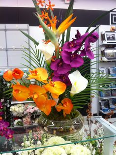 Tropical Floral by kristy@michaels 1091