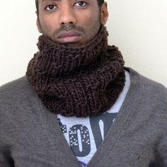 sciarpa scaldacollo da uomo modello MILO colore  DARK di ceriscioc