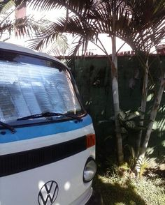 Our kombi home enjoying a morning sun @celebrating_alternatives