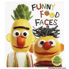 Food humor - bert and ernie