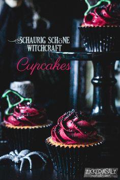 witchcraft-cupcakes mit kekshut