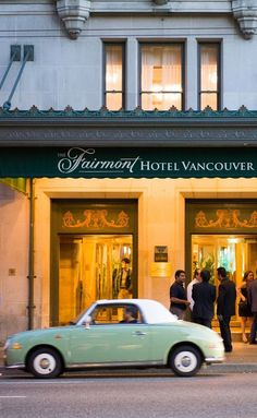 50 Incredible Things To Do In Vancouver. Vancouver's Grand Dame – the Fairmont Hotel – is a patient mistress and come dusk she knows the masses will come home for a nightcap. While in Canada, be sure to try a Ceaser Cocktail. #canada #northamerica #northamerica #travel #vancouver  #thingstodo #city #britishcolumbia
