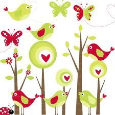 clipart butterfly and birds - Buscar con Google