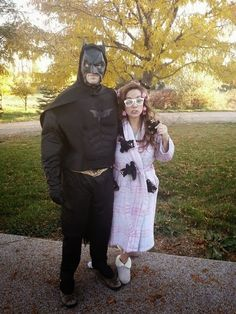 Batman and Crazy CatWoman...hahaha!