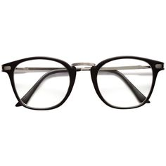 Glasses $9.99 (36 PLN) ❤ liked on Polyvore featuring accessories, eyewear, eyeglasses, clear plastic glasses, clear eye glasses, metal frame eyeglasses, clear plastic eye glasses and clear glasses