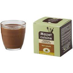 Fondue au chocolat noir noisette - Mazet - Etre Gourmand