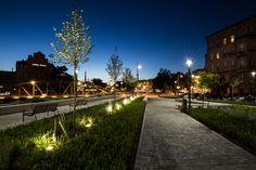 Bulwar Księdza Aleksandra Zienkiewicza – trzecie miejsce w kategorii obiekt inżynierski, przestrzeń publiczna– wykonawca Park-M