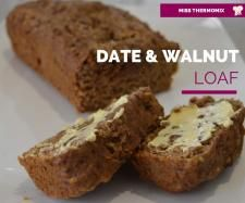Recipe Date and Walnut Loaf by MissThermomix, learn to make this recipe easily in your kitchen machine and discover other Thermomix recipes in Baking - sweet. Thermomix Bread, Thermomix Desserts, Yummy Treats, Delicious Desserts, Sweet Treats, Yummy Food, Baking Recipes, Cake Recipes, Baking Tips