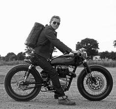classic // denim, motorcycle