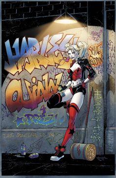 Harley Quinn Rebirth