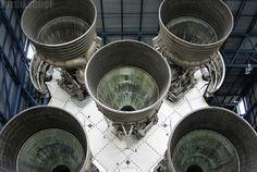 Saturn V.  Kennedy Space Center.  Florida, USA.  March, 2014.