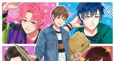 Studio Pierrot Launches ALL RUSH!! Web Manga Under New Label +iRO – OTAQUEST Manga Illustrations, Studio S, Good Company, Beautiful Boys, Cute Boys, The Past, Character Design, Label, Animation