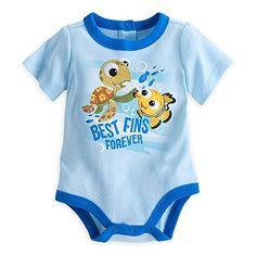 """Disney Store Finding Nemo """"Best Fins Forever"""" Bodysuit Baby 6-9 Months (6-9m) Disney http://www.amazon.com/dp/B014LSKJX4/ref=cm_sw_r_pi_dp_PyWbwb0VNBMTJ"""