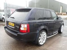 2005 Range Rover Sport 2.7 TDV6 HSE 5-door auto estate. Blue. Full leather interior. HI ICE pack. Click on pic shown for loads more.