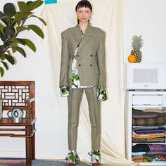 In February, we spoke with Minki Cheng about his past- and upcoming collections. This season's garments are made of a mix of natural fibers and silicon, which combined gives a slight sci-fi meets Céline look. 'Japanese garments repaired with beautiful stitching to strengthen the fabric,' is one of Minki's research points behind the collection; the …