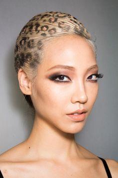 Leopard Hair - Jean Paul Gaultier Couture Fall 2013 - {The Cut}