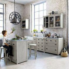 Cozinhas com toque industrial