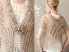 #4 Double Wrap, Vogue Knitting Crochet 2012 - YouTube
