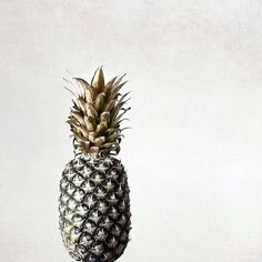 Gold Pineapple Photograph Kitchen Still Life Print by Raceytay, $20.00