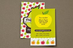 Graphic Farmers Market Business Card | Flickr - Photo Sharing!