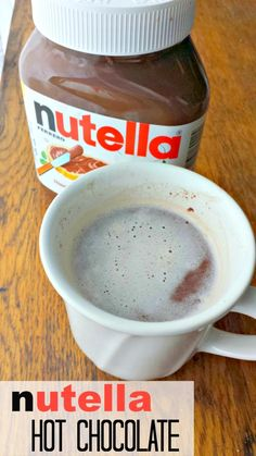 Nutella Hot Chocolate Microwave Directions @ Mom Always Finds Out. So easy to make rich and creamy Nutella cocoa. http://momalwaysfindsout.com/2014/01/nutella-hot-chocolate-in-the-microwave/