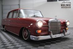 1965 Mercedes 190 SHOW CAR on Air Ride #MercedesBenzofHuntValley