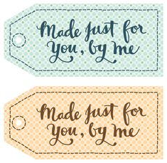 Gift Tags for DIY gifts