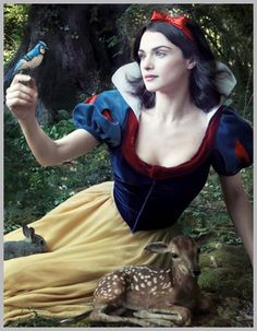 Celebrity Disney Photographs by Annie Leibovitz - Rachel Weisz as Snow White