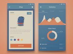 Beautiful UI Inspiration by Dennis Sevryukov — Muzli -Design Inspiration