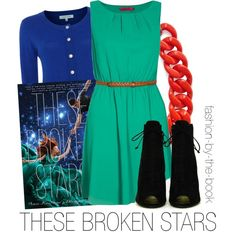 Outfit inspired by These Broken Stars by Amie Kaufman and Meagan Spooner
