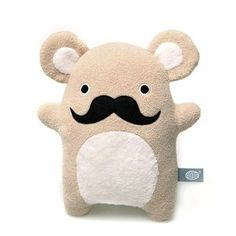 Doudou à moustache