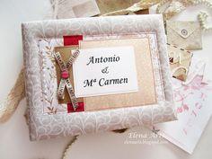 Elena Arts: Libro de firmas para Antonio y Mª Carmen.