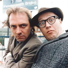"Rik Mayall and Adrian Edmondson as Richie and Eddie in the vastly underrated ""Bottom"""