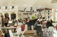 Ambiance du Festival de Saintes 2012.