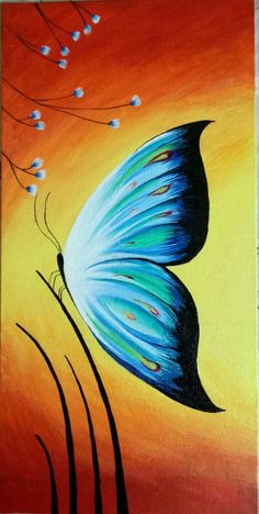 Colours of nature - Handpainted Art Painting - X (Framed) - painting art Oil Pastel Paintings, Oil Pastel Art, Indian Art Paintings, Acrilic Paintings, Easy Nature Paintings, Oil Pastel Drawings Easy, Canvas Paintings, Art Sur Toile, Small Canvas Art