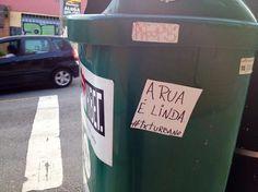 #txurbano espalha frases generosas pela cidade