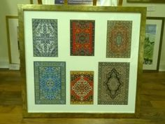 Multi-Ap Mounting Arab Carpets framed by www.pgframing.com