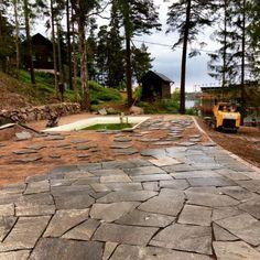 Bildresultat för stenläggning uteplats