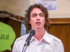 Gaspard Perrot, lauréat 2014 du concours Boost Your Code - Inria