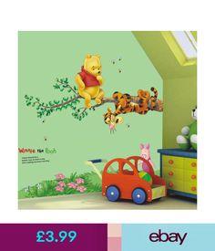 Children S Peppa Pig Peel And Stick Vinyl Wall Sticker Decals
